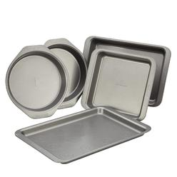 Cake Boss Basics Nonstick Bakeware 5-Piece Bakeware Set, Gray at Kmart.com