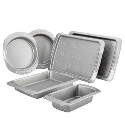 Cake Boss Deluxe Nonstick Bakeware 6-Piece Bakeware Set, Gray at Kmart.com