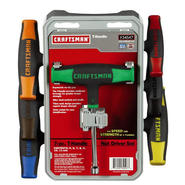 Craftsman 7 pc. T-Handle Nut Driver Set, Metric at Kmart.com