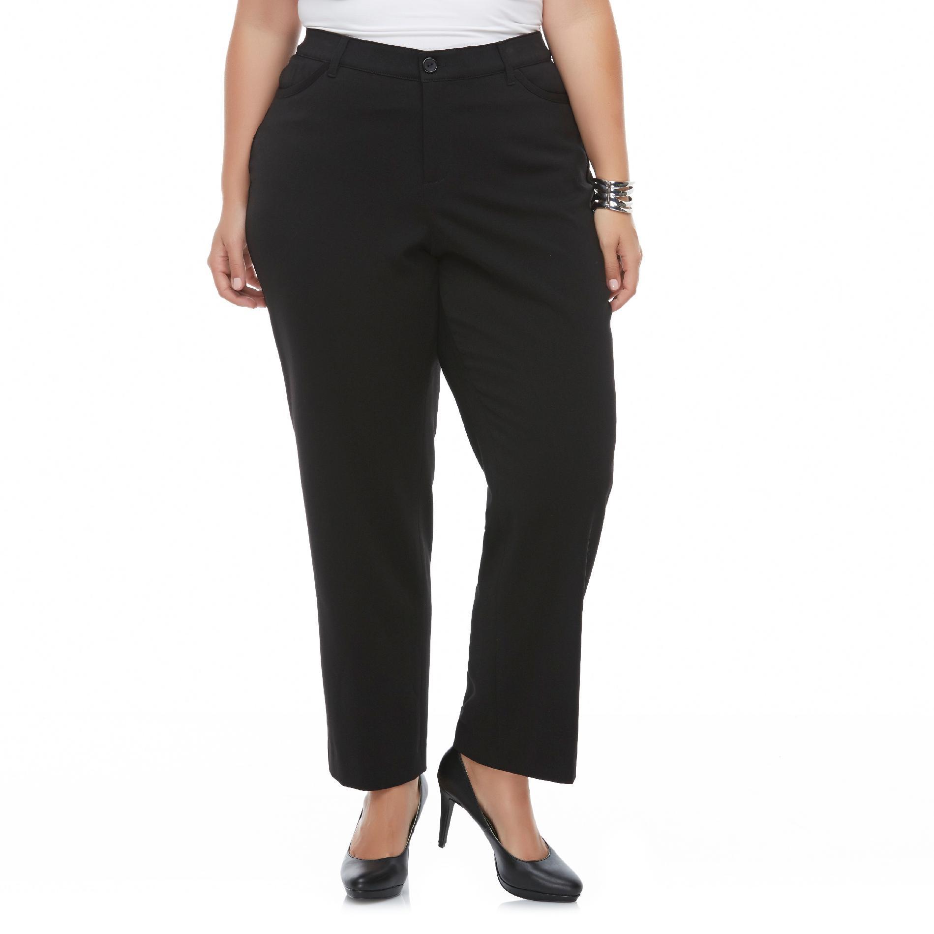 Women's Plus Diamond Fit Dress Pants