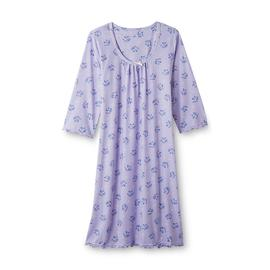 Pink K Women's Nightgown - Floral Print at Kmart.com