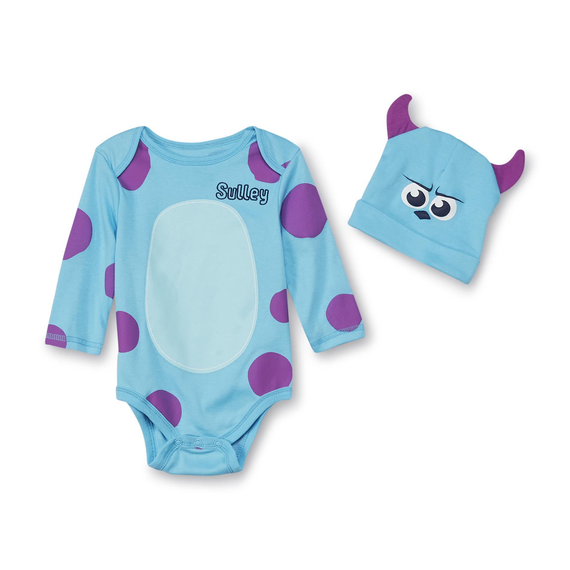 1972bb78656 Disney Monsters Inc. Newborn Boy s Costume Hat   Creeper - Sulley
