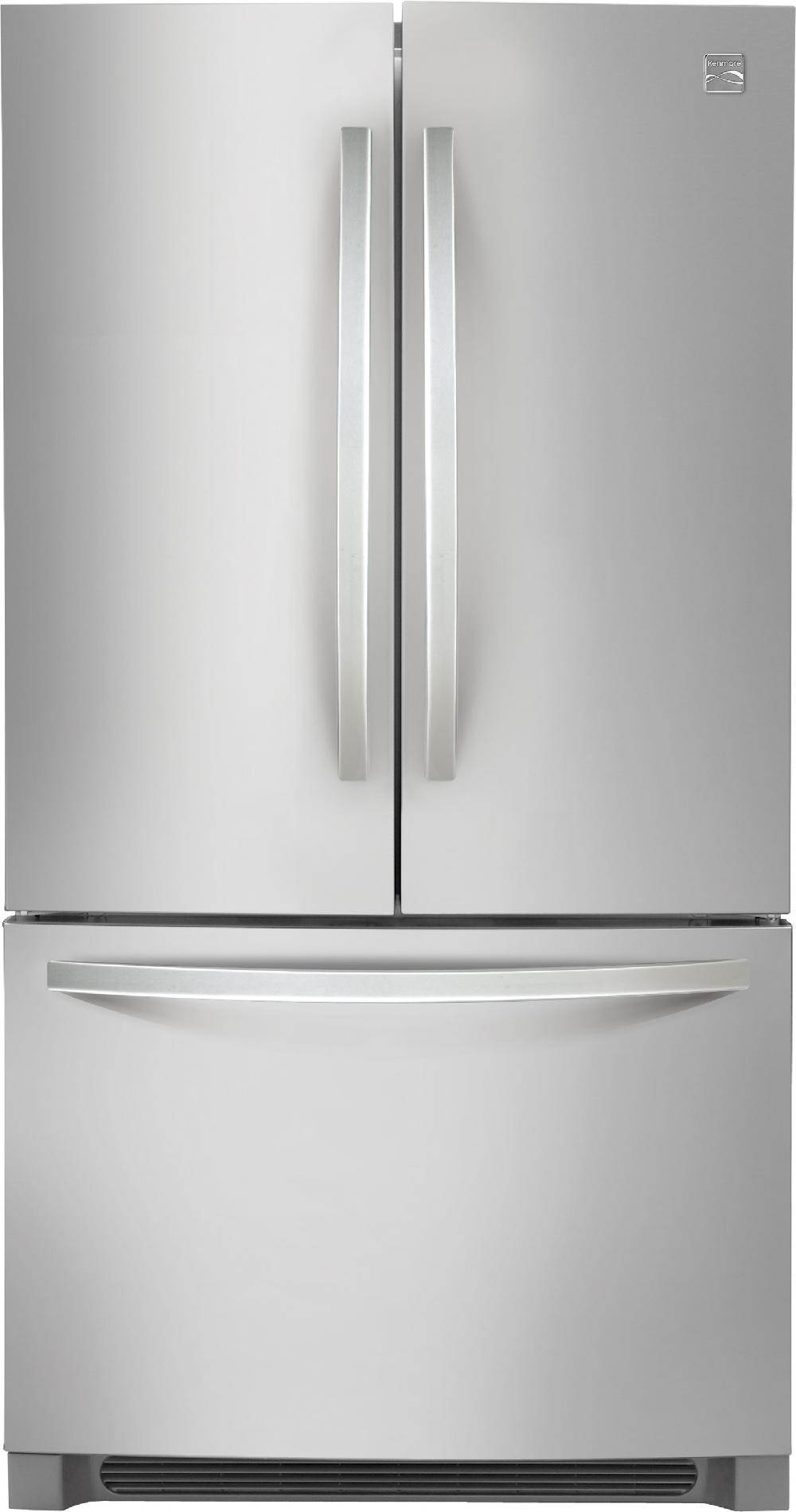 Kenmore-70423-22-3-cu-ft-Counter-Depth-French-Door-Refrigerator-Stainless-Steel