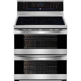 Kenmore Elite 7.2 cu. ft. Double-Oven Electric Range - Stainless Steel