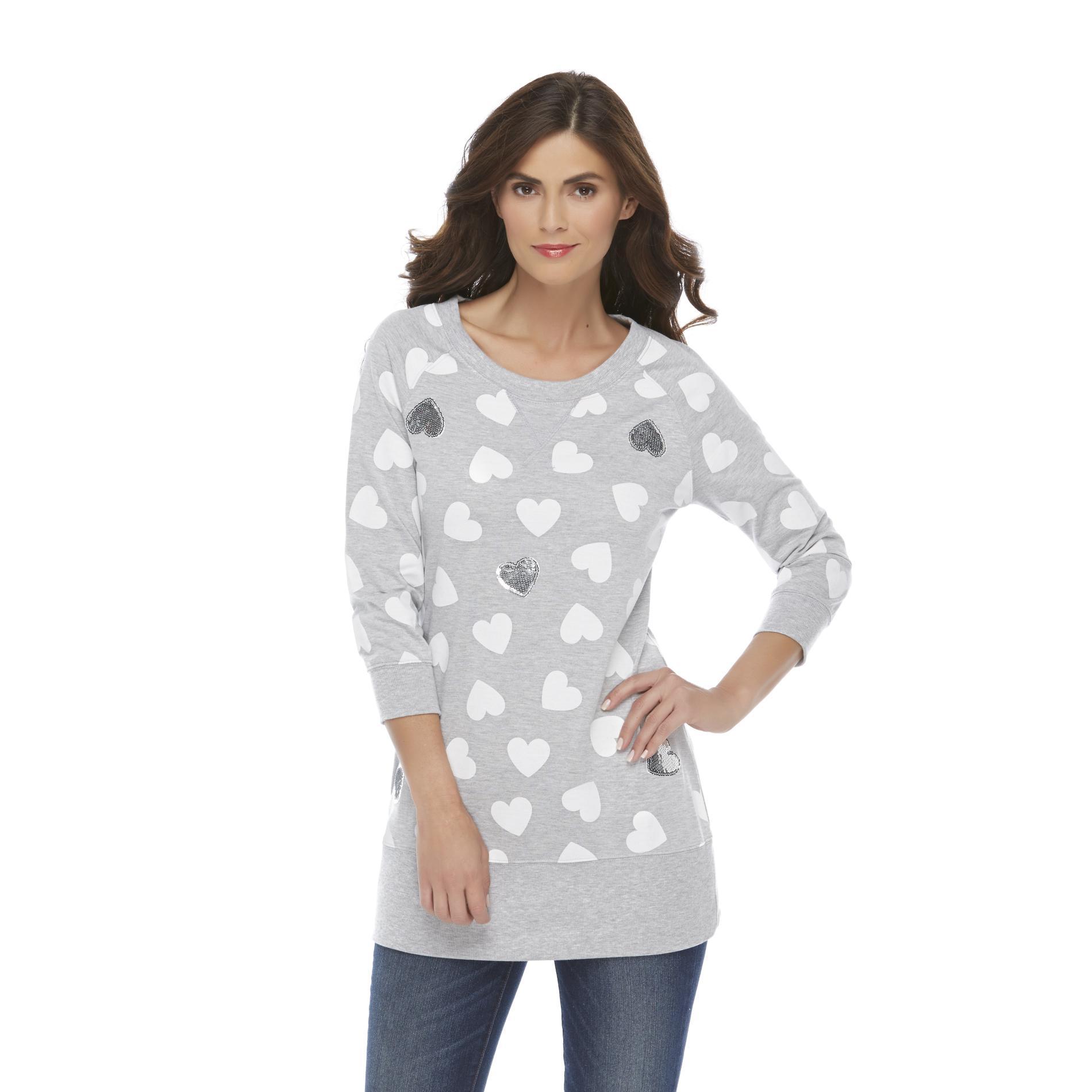 Joe Boxer Women's Graphic Sweatshirt at Sears.com