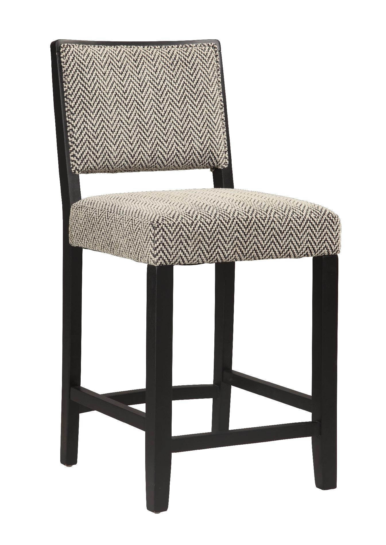 Linon Zoe Counter Stool Bridgeport Home Furniture