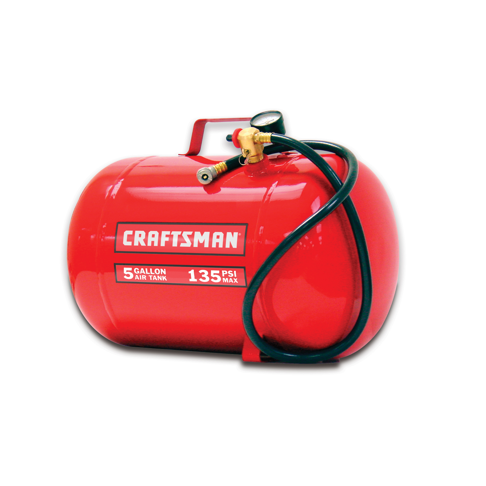 Craftsman 5 Gallon 135 PSI Horizontal Air Tank