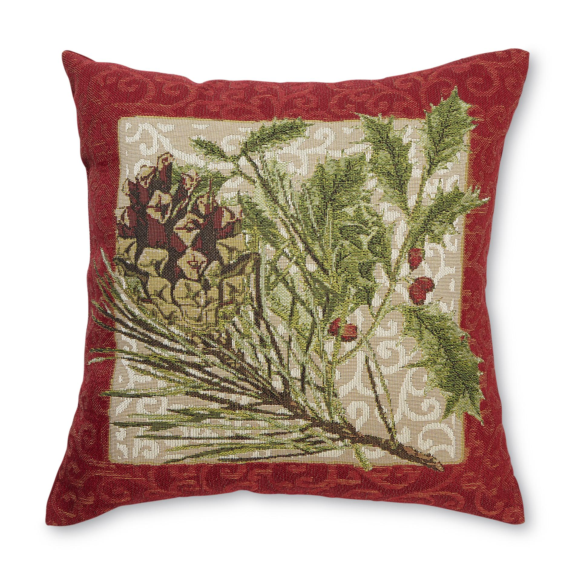Decorative Pillows Kmart : Seasonal Decorative Throw Pillow - Pine & Ivy - Home - Home Decor - Pillows, Throws & Slipcovers ...