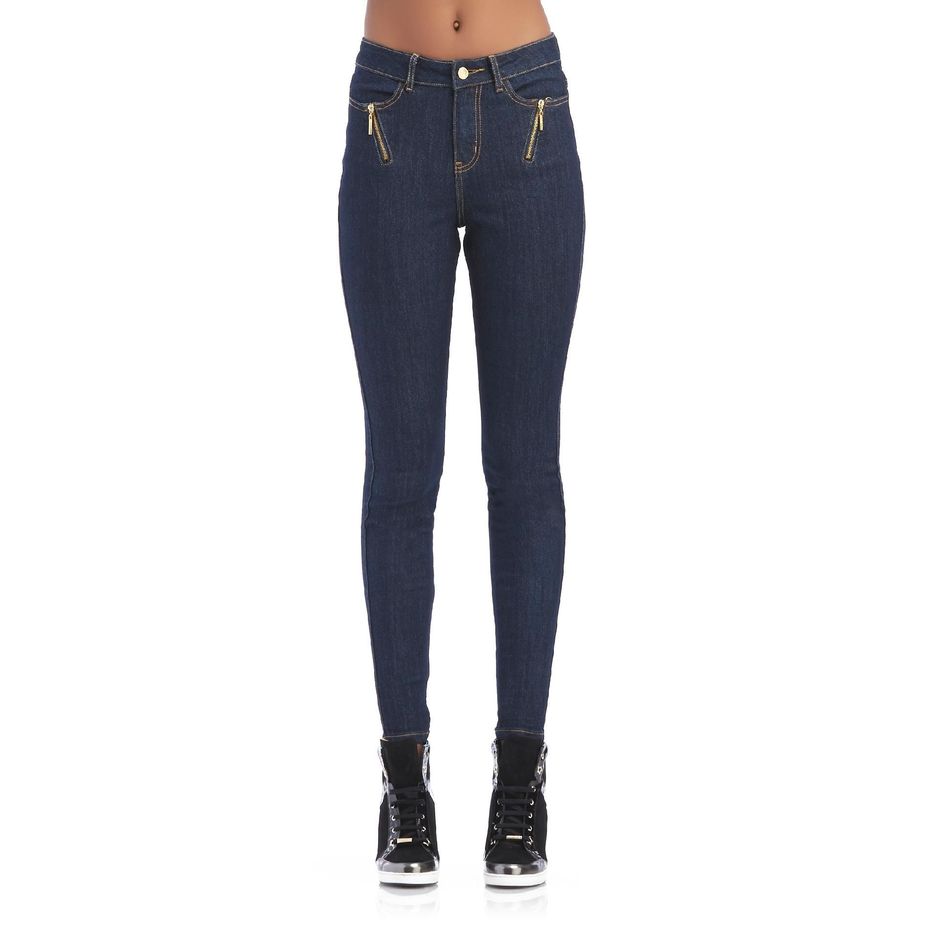 Nicki Minaj Women's High-Rise Skinny Jeans