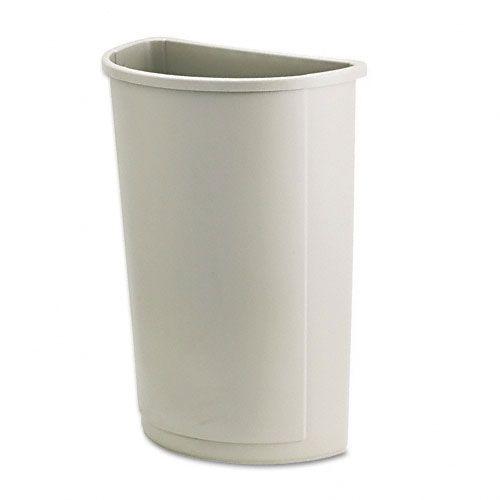 Untouchable® Half-Round Plastic Receptacle