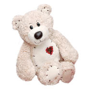 First and Main Cream Tender Teddy Bear at Kmart.com