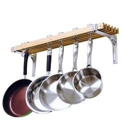 Cooks Standard Wall Mount Pot Rack, 36 by 8-Inch at Kmart.com