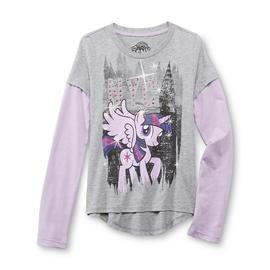 My Little Pony Girl's Graphic Top - Twilight Sparkle at Kmart.com
