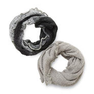 Metaphor Women's Pointelle Knit Infinity Scarf at Sears.com