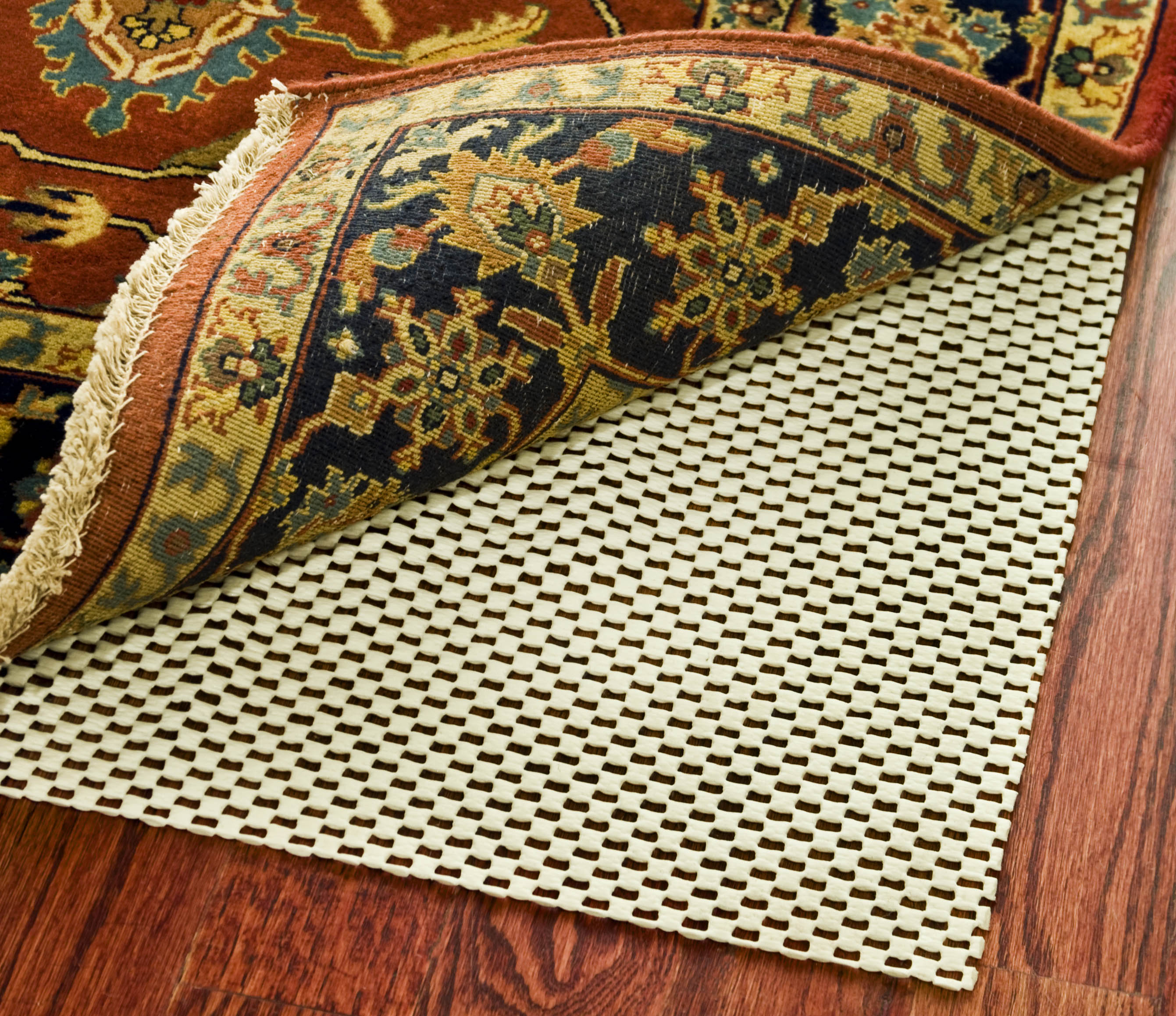 Image of Safavieh Ultra Creme 12 ft. x 15 ft. Non-Slip Surface Rug Pad