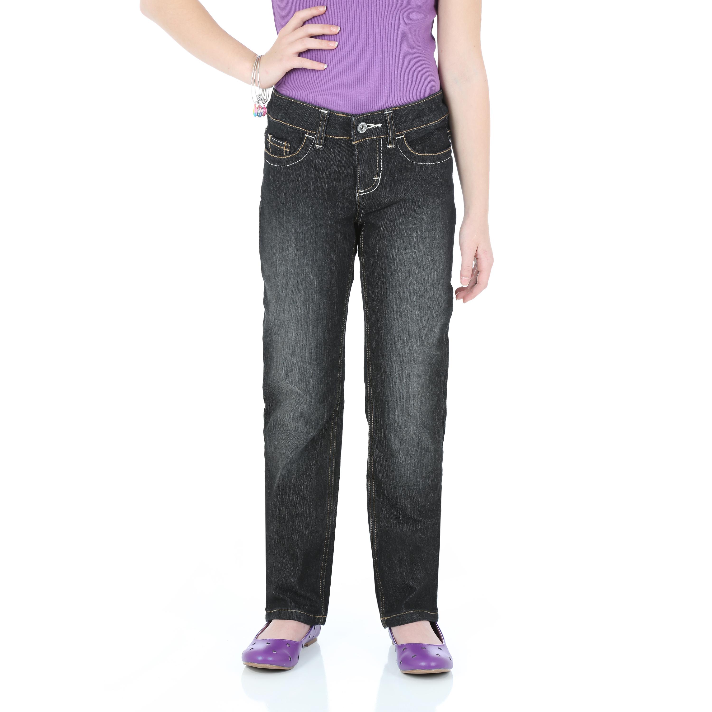 Wrangler Girl's Straight Leg Jeans