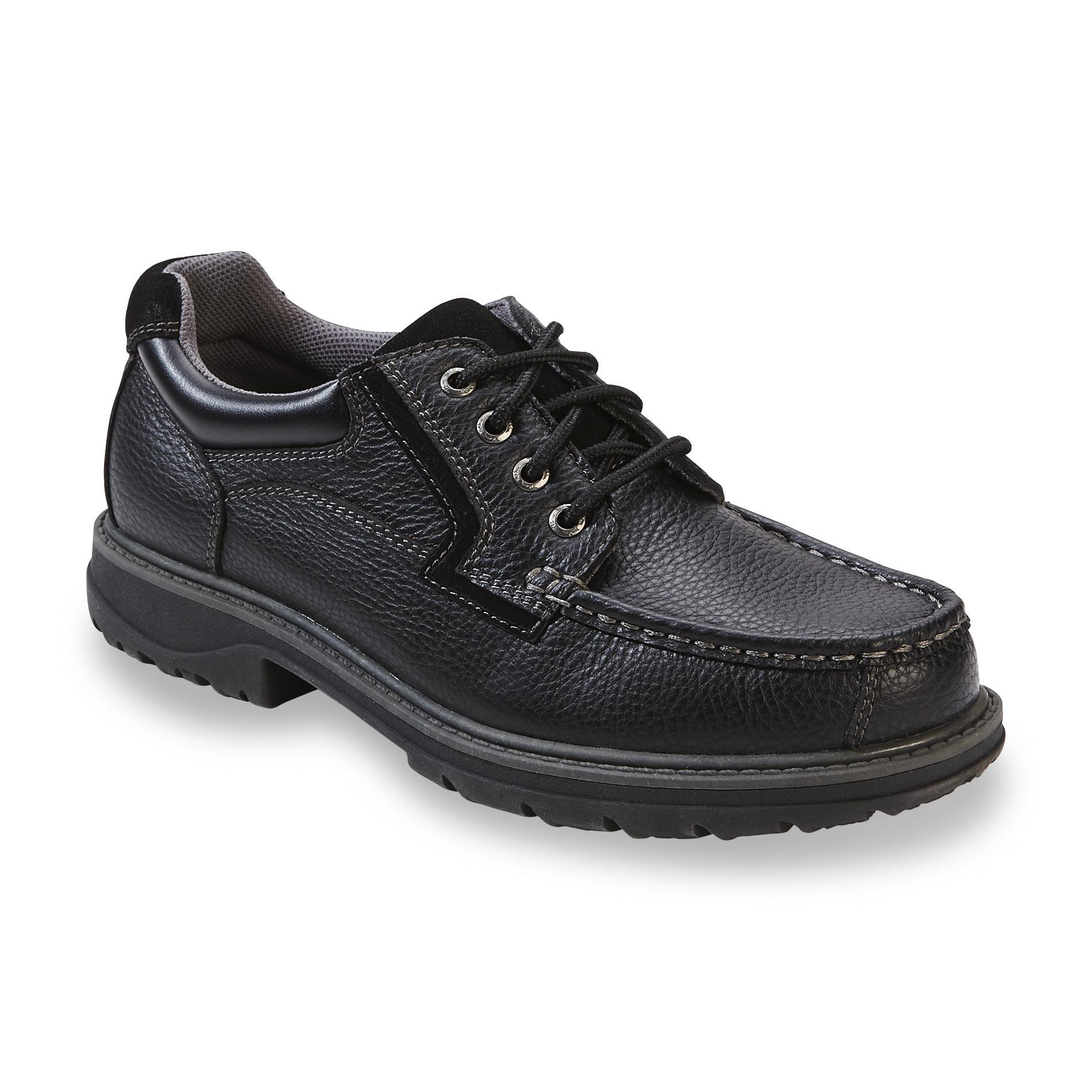 Men's Saul Black Oxford Shoe