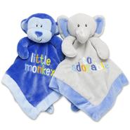 Baby Essentials Infant Boy's 2-Pack Plush Blankets at Sears.com