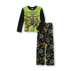 Nickelodeon Teenage Mutant Ninja Turtles Boy's Fleece Pajama Shirt & Pants at Kmart.com