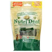 Nylabone Nutri Dent Dental Chews, Nutritious, Edible, Medium, 8 treats [7.6 oz (216 g)] at Kmart.com