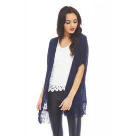 AX Paris Women's Plain Tassel Kimono - Online Exclusive at Kmart.com