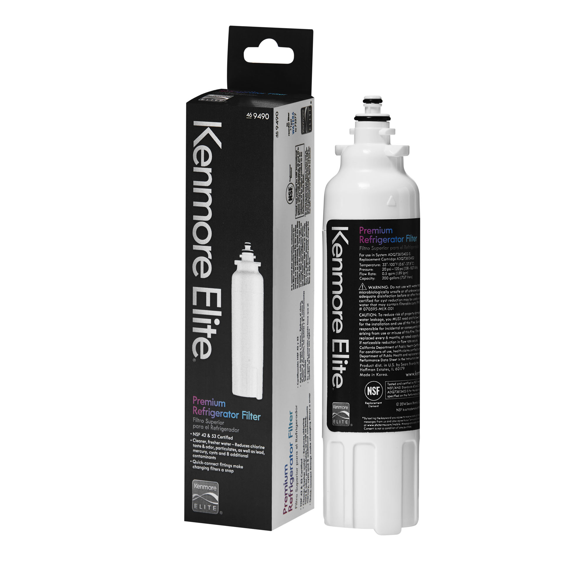 Kenmore Elite 9490 /ADQ73613402 200 gal. Water Filter