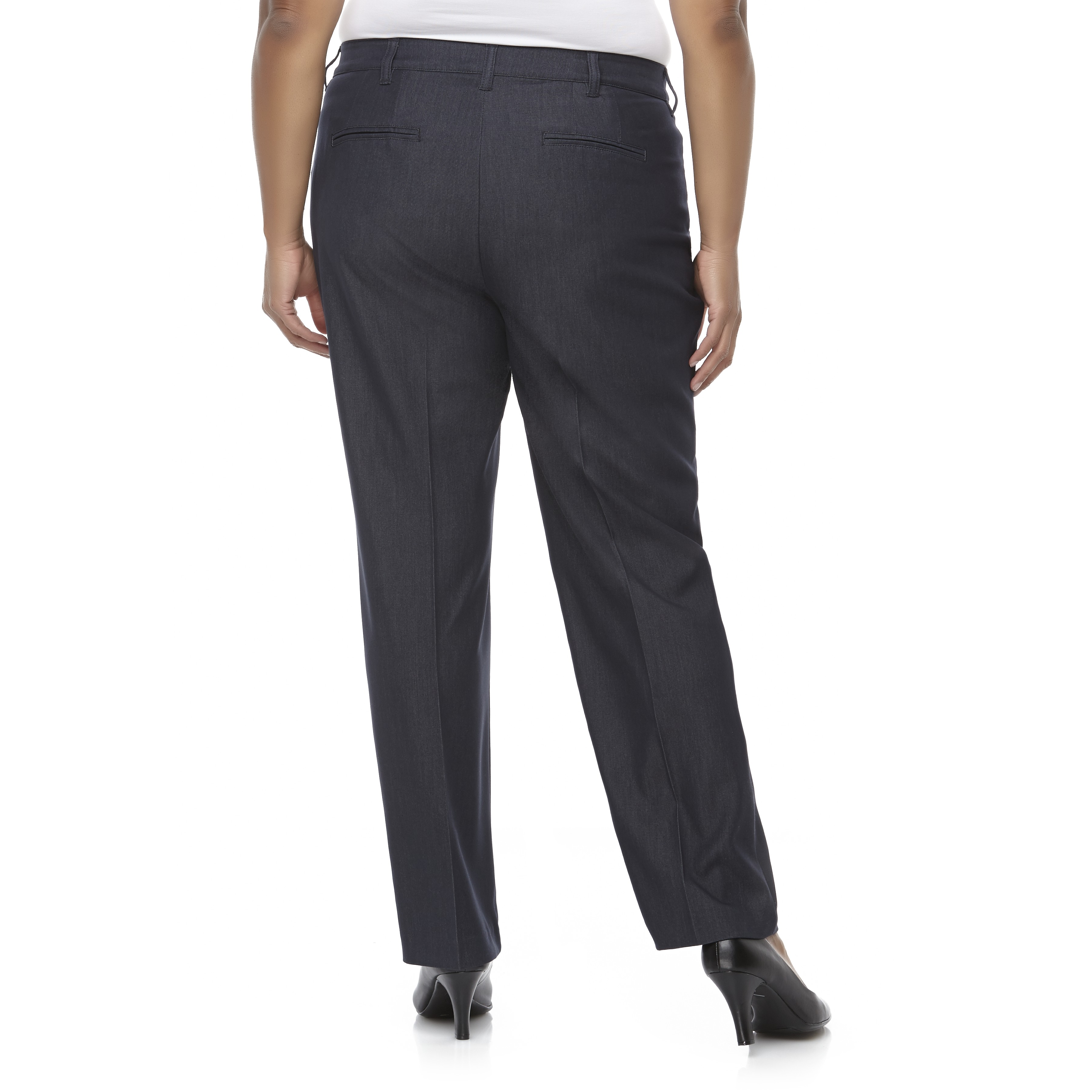 Covington Women's Plus Diamond Fit Dress Pants