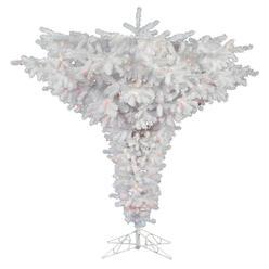 vickerman 75 x 95 crystal white upside down tree with 2063 pvc tips - White Christmas Tree Sale