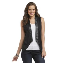 Attention Women's Open Front Vest at Kmart.com