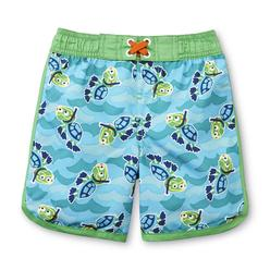 WonderKids Infant & Toddler Boy's Cargo Swim Shorts - Lobsters & Crabs at Kmart.com