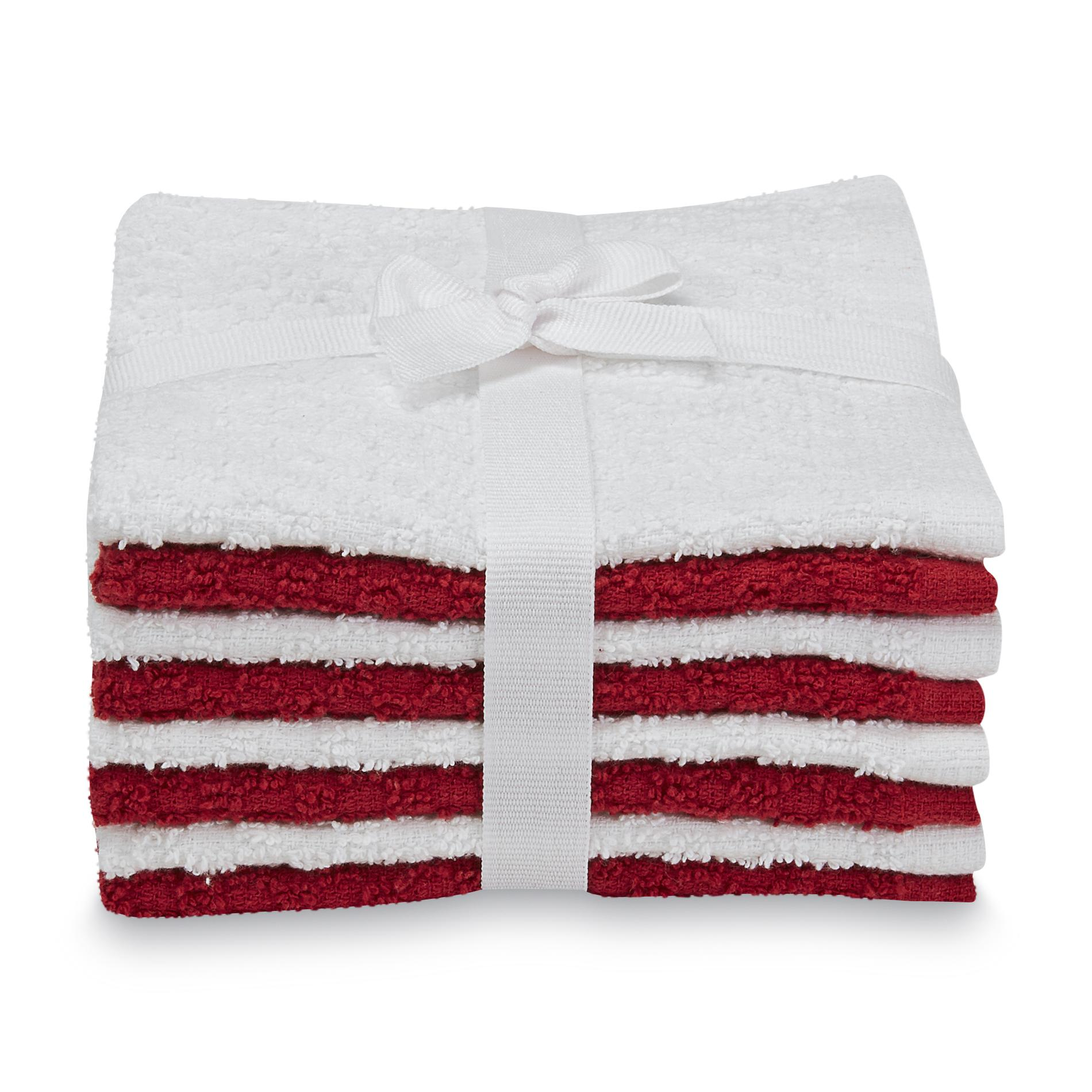 Essential Home 8-Pack Terry Washcloths