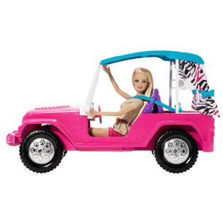 Barbie BABRIE SISTERS DESTINATION JEEP