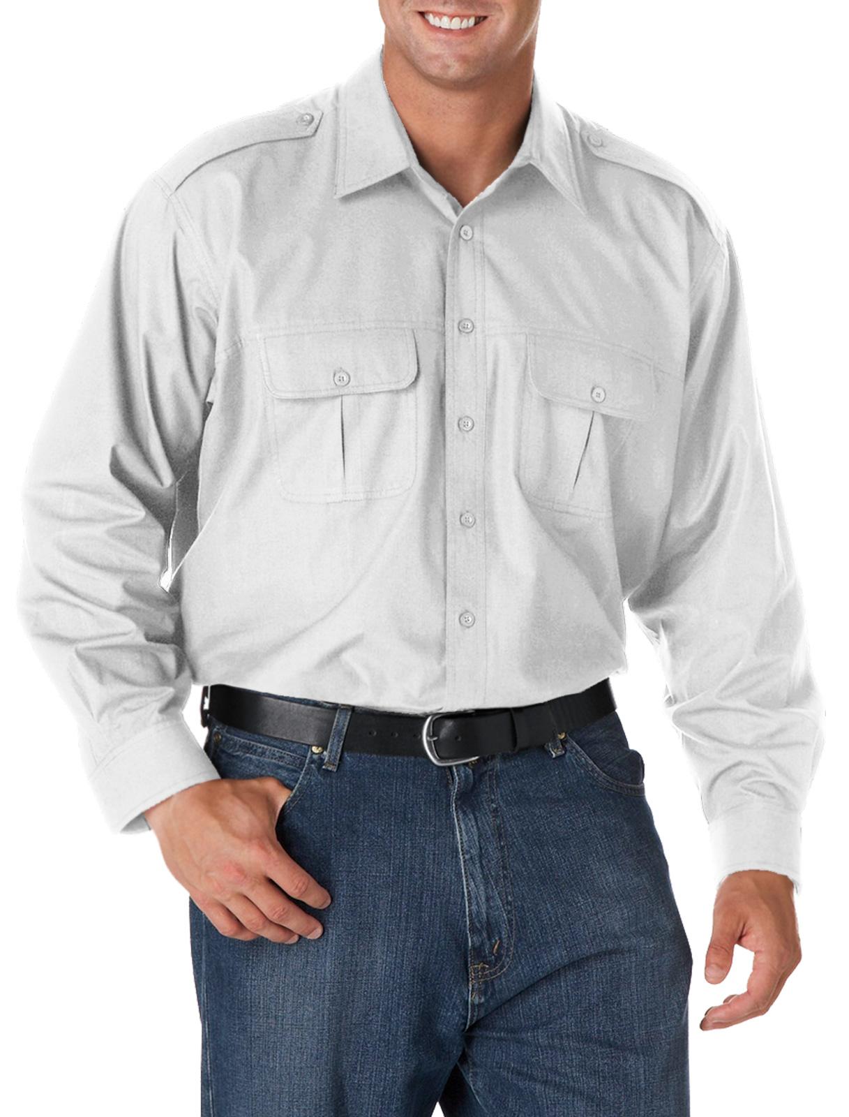 Harbor Bay Men's Big and Tall Pilot Sport Shirt