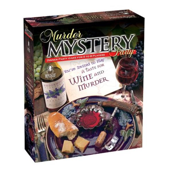 University Games A Taste for Wine and Murder (Murder Mystery Party)