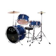 GP Percussion GP50 3-Piece Junior Drum Set With Cymbals and Throne in Metallic Blue at Kmart.com