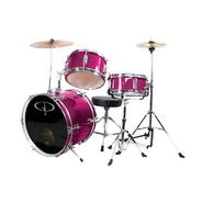GP Percussion GP50 3-Piece Junior Drum Set With Cymbals and Throne in Metallic Pink at Kmart.com