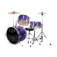 GP Percussion GP50 3-Piece Junior Drum Set With Cymbals and Throne in Metallic Purple at Kmart.com
