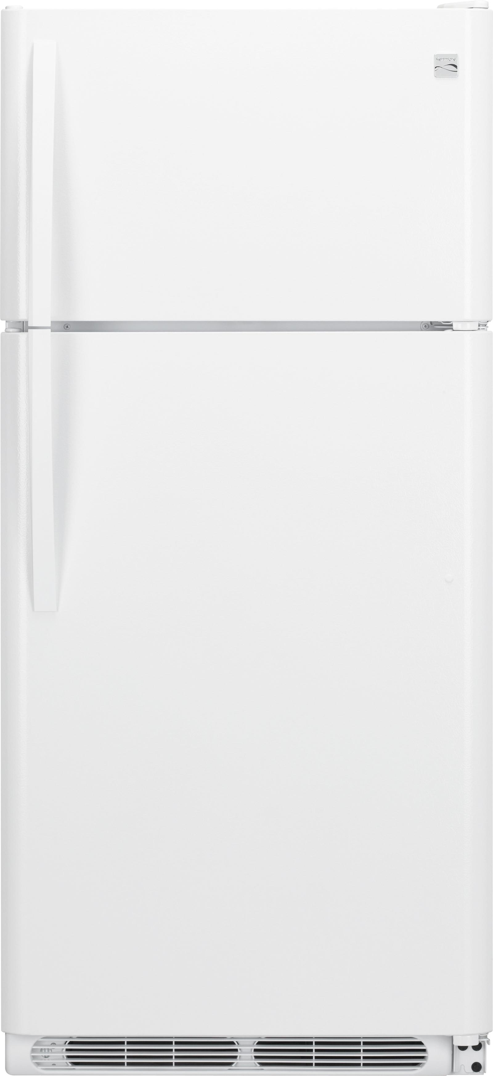 Kenmore 20.4 cu. ft. Top Freezer Refrigerator - White