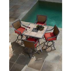 Ty Pennington Style Palmetto 5pc Patio High Dining Set at Kmart.com