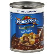 Progresso Traditional Soup, Beef Barley, 19 oz (1 lb 3 oz) 538 g at Kmart.com