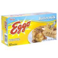 Eggo Waffles, Buttermilk, 10 waffles [12.3 oz (349 g)] at Kmart.com