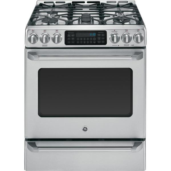 GE Cafe Series CGS985SETSS  5.4 cu. ft. Freestanding Gas Range w/ Baking Drawer - Stainless