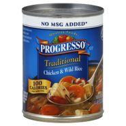 Progresso Traditional Soup, Chicken & Wild Rice, 19 oz (1 lb 3 oz) 538 g at Kmart.com