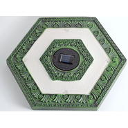 Homebrite Set of 3 Solar Power Hexagon Garden Green Stepping Stones at Sears.com