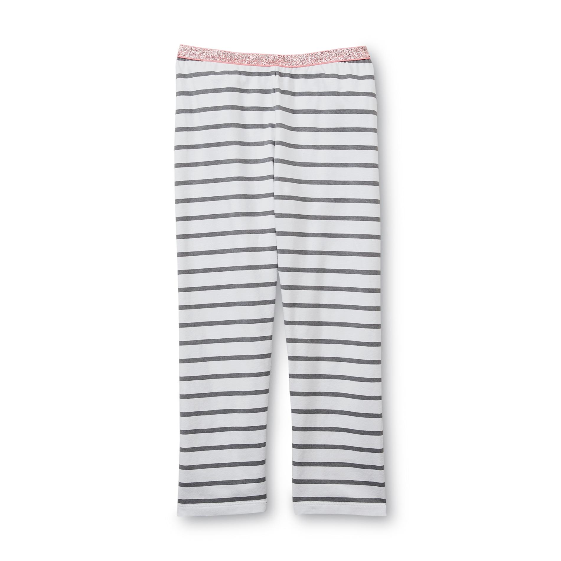 Basic Editions Girl's Capri Leggings - Striped at Kmart.com