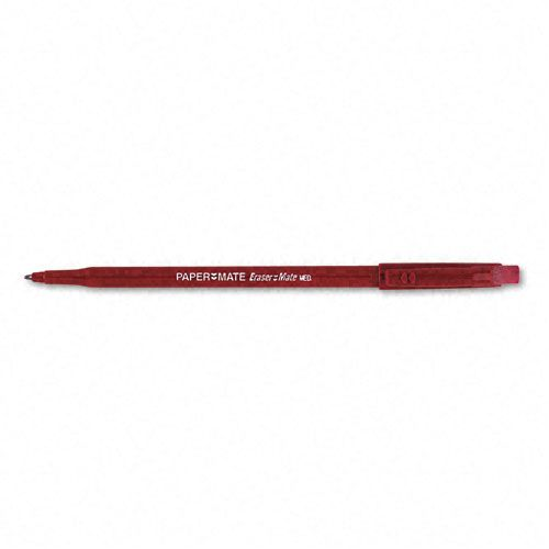Paper-Mate Eraser Mate Stick Ballpoint Pen - NEWELL RUBBERMAID INC.