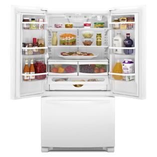 Whirlpool Wrf540cwbw 20 Cu Ft Counter Depth French Door Refrigerator W Interior Water