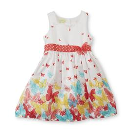 Holiday Editions Girl's Sleeveless Sundress - Butterflies at Kmart.com