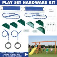 Swing-N-Slide Pioneer Custom Ready-to-Build Swing Set Kit - Price Includes Shipping! at Kmart.com