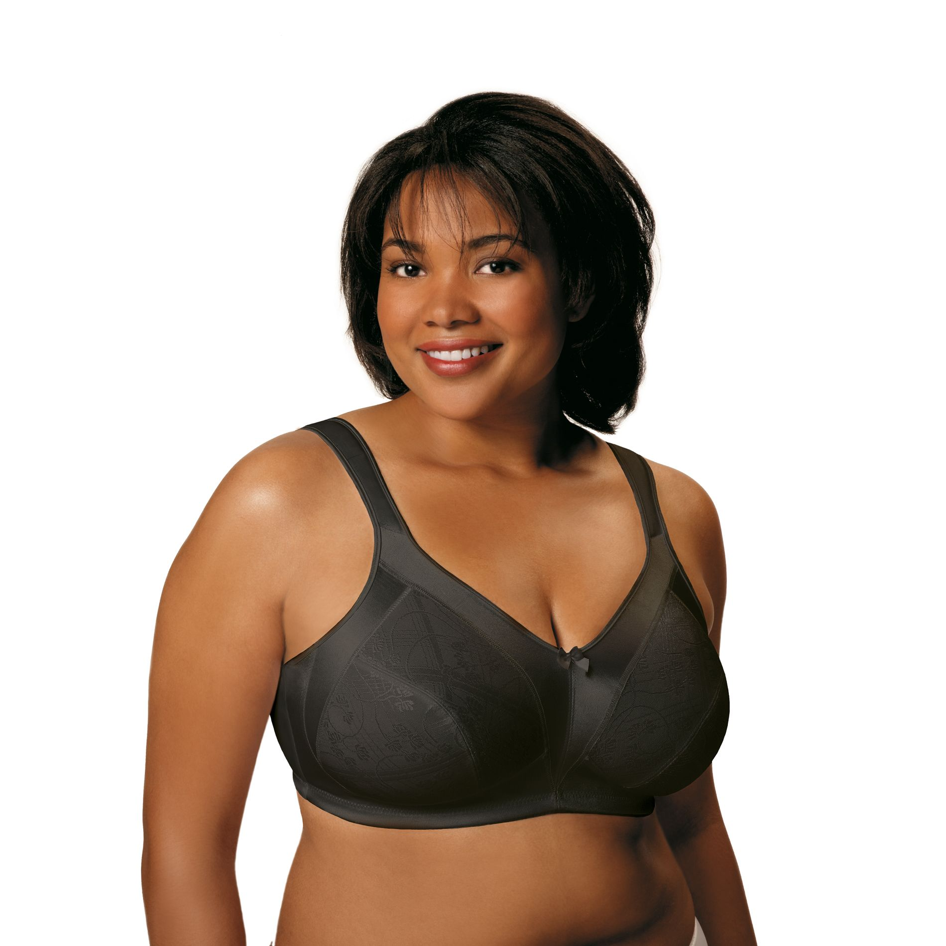 Just My Size Women's Cushion Strap Minimizer Soft Cup Bra #1979 at Kmart.com